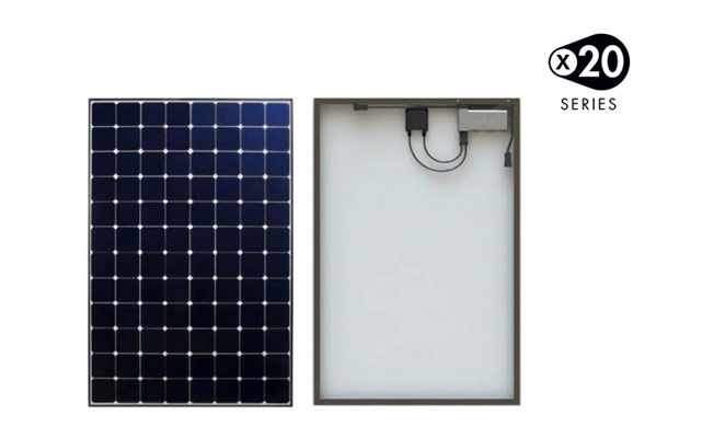 X-20 Sunpower zonnepaneel