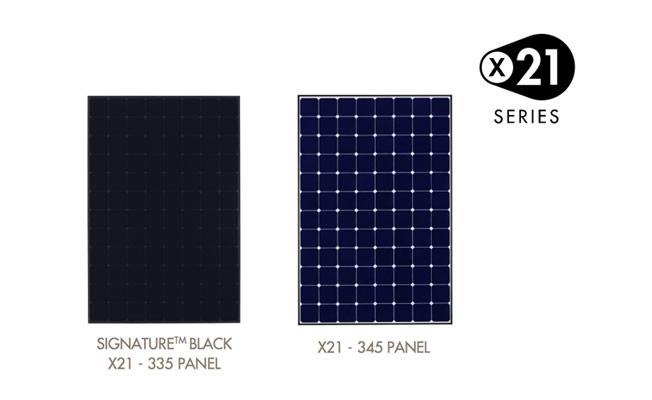 X-21 Sunpower zonnepaneel