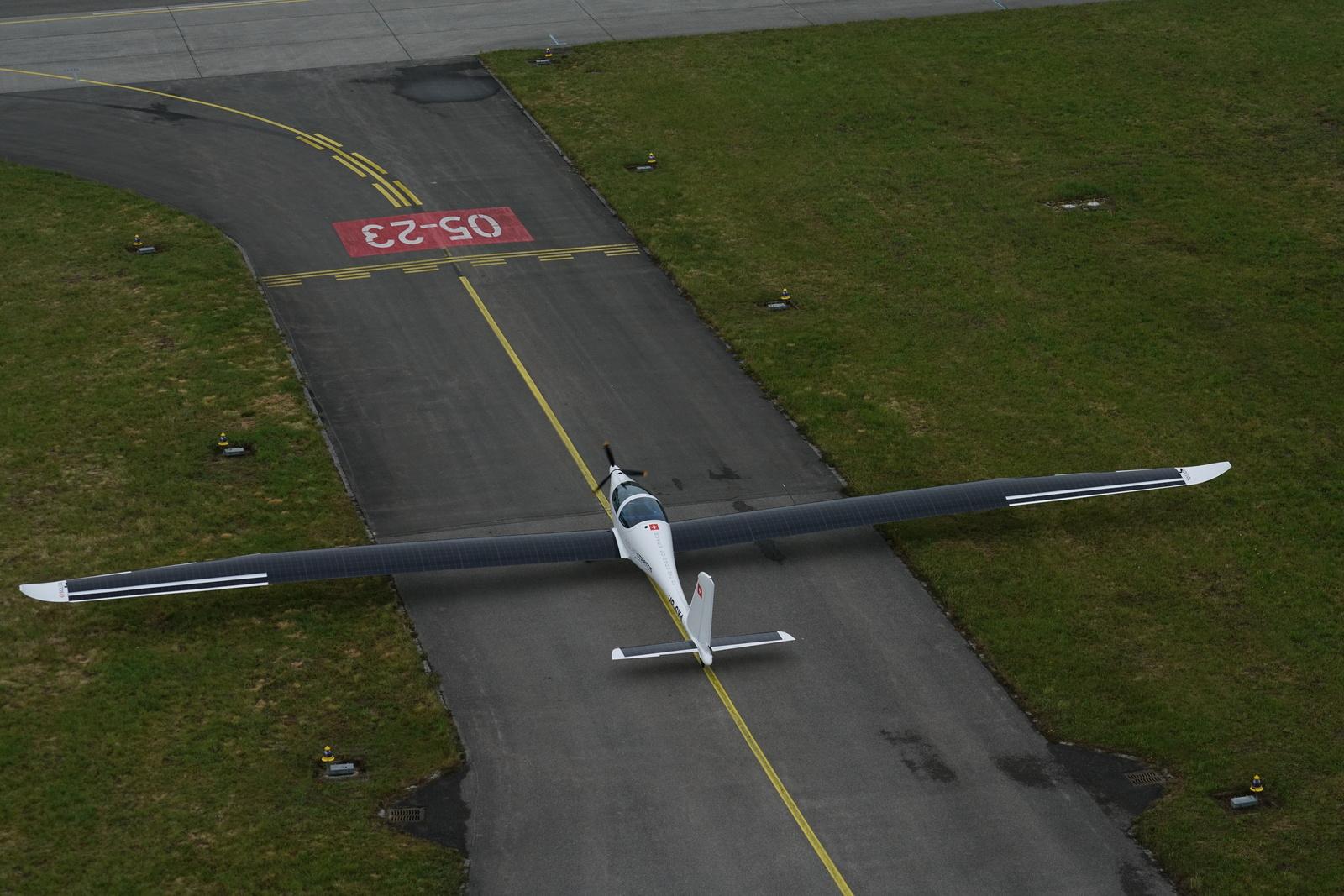 SolarStratos vliegtuig